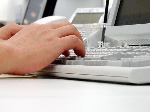 パソコンのシーン